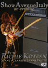 RICHIE KOTZEN SHOW AVENUE ITALY AN EVENING 2.7.1999