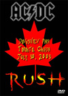 AC/DC & RUSH Downsview Park , Toronto, Canada July 30, 2003