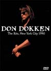 DON DOKKEN Live At The Ritz, New York City 1990