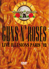 GUNS N' ROSES LIVE ILLUSION PARIS'92