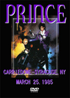 PRINCE CARRIEDOME-SYRACUSE,NY MARCH 25.1985