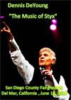 DENNIS DEYOUNG The Music Of Styx Live In San Diego, CA 06.16.201