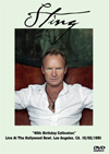 STING 40th Birthday Celbration Live At The Hollywood Bowl, Los A