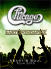 CHICAGO AND EARTH, WIND & FIRE Heart & Soul Tour 2015