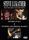 STEVE LUKATHER (TOTO) WITH HIS GROUP LOS LOBOTOMYS SONORIA ITALY