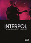 INTERPOL T IN THE PARK 10.7.2005